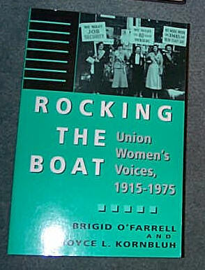 Image for ROCKING THE BOAT - UNION WOMEN'S VOICES 1915-1975