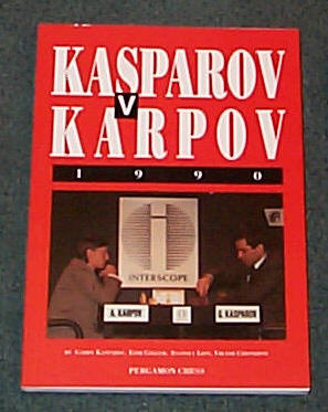 Image for KASPAROV V KARPOV 1990