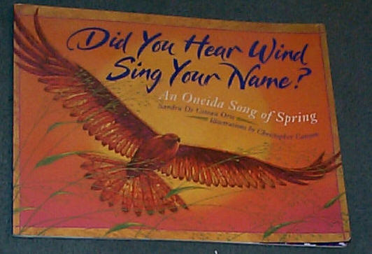 Image for Did You Hear Wind Sing Your Name?