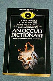 Image for OCCULT DICTIONARY, AN