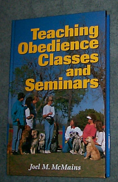 Image for TEACHING OBEDIENCE CLASSES AND SEMINARS