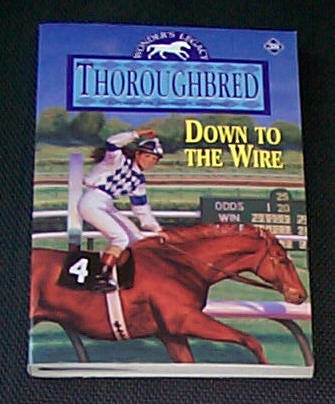 Image for DOWN TO THE WIRE - THOROUGHBRED # 38